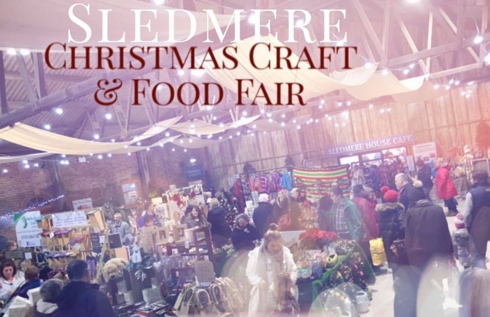 christmas craft fair sledmere house image