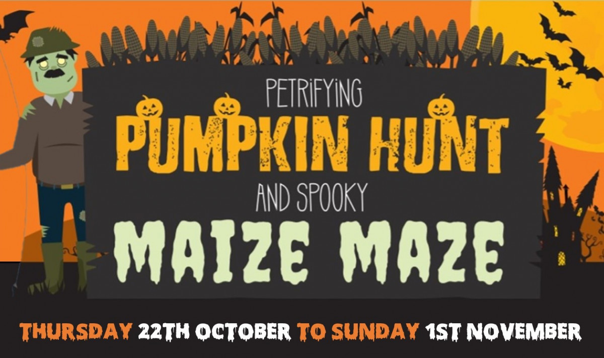 The Petrifying Pumpkin Hunt and Spooky Maize Maze