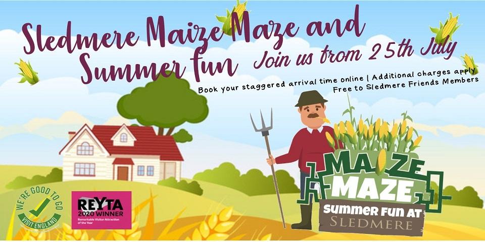 Maize Maze & Summer Fun at Sledmere