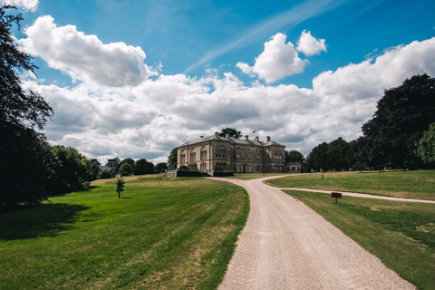 Sledmere House, wedding venue in East Yorkshire