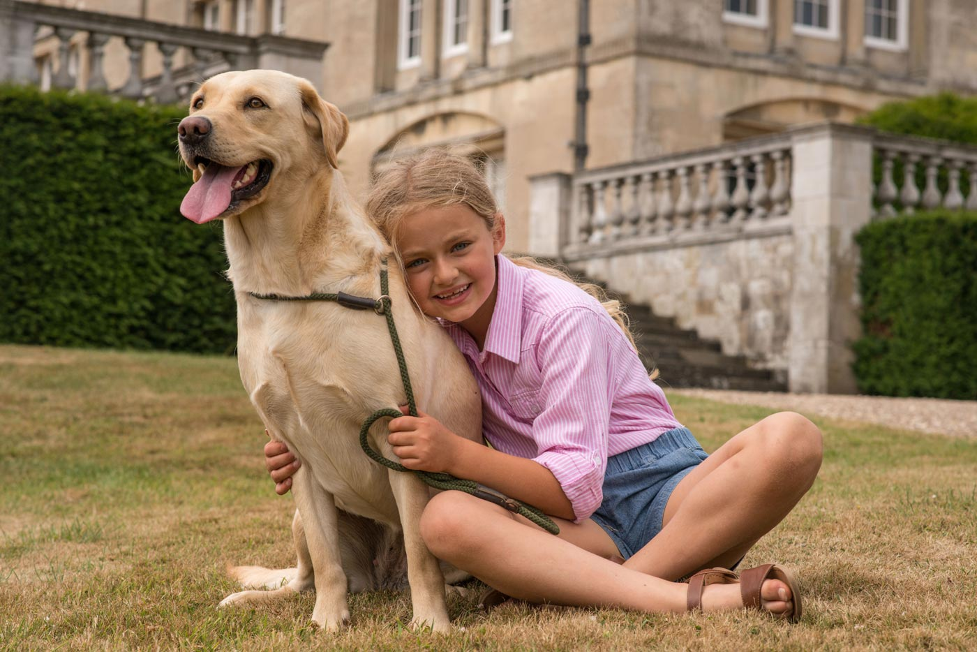 Dogs are welcome at Sledmere House in East Yorkshire