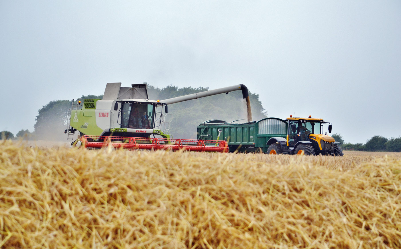 Farming on the Estate at Sledmere, East Yorkshire