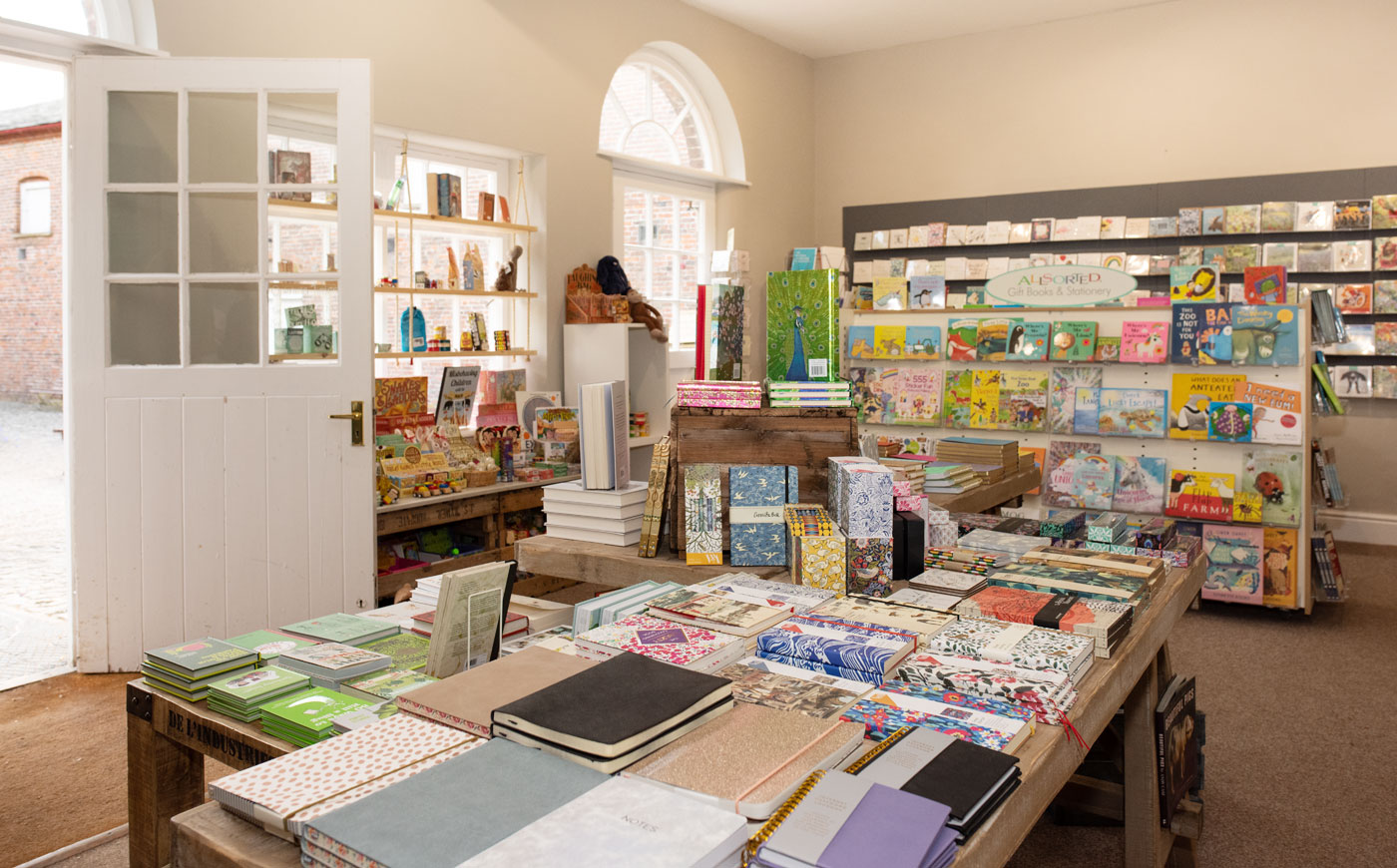 The Paper Tree, the new shop at Sledmere House, East Yorkshire