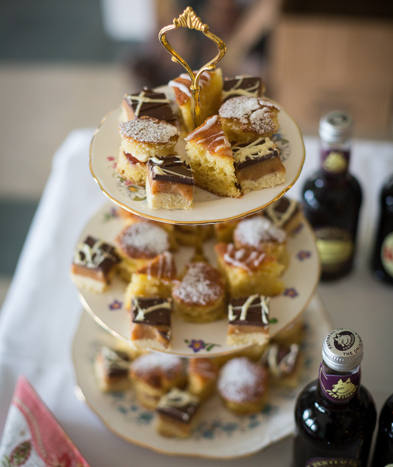 Wedding catering at Sledmere House, a venue in East Yorkshire