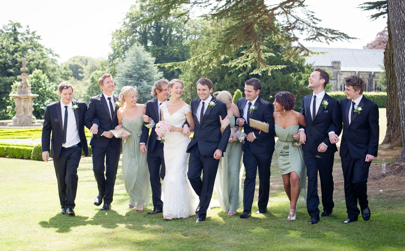 Weddings at Sledmere House, a venue in East Yorkshire