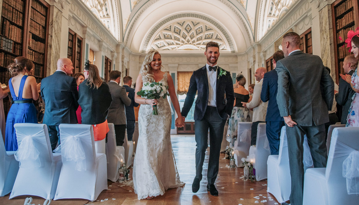 Sledmere House, a wedding venue in East Yorkshire