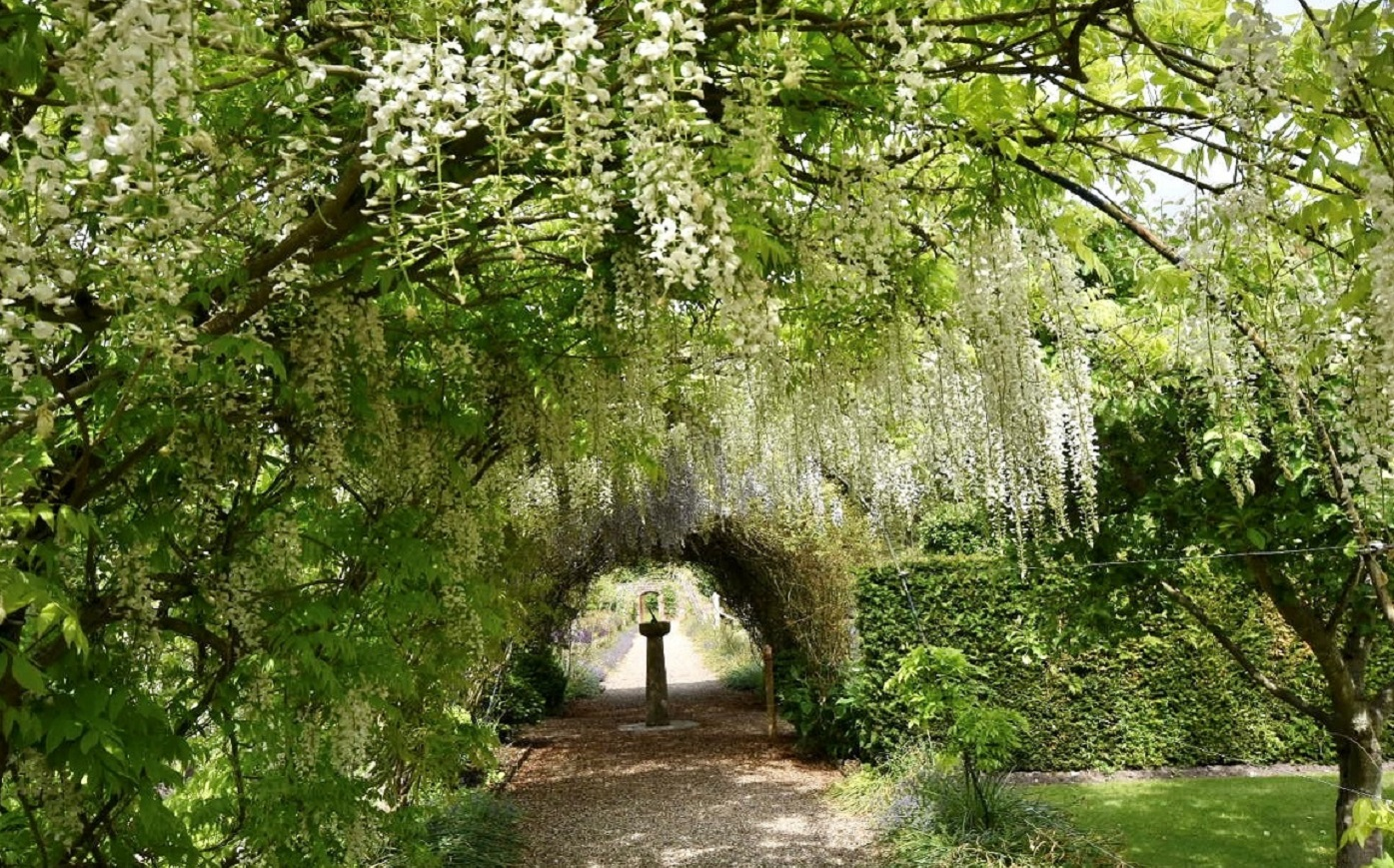 The gardens at Sledmere House, East Yorkshire